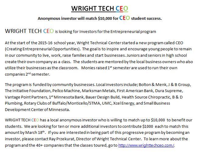 Wright Tech CEO